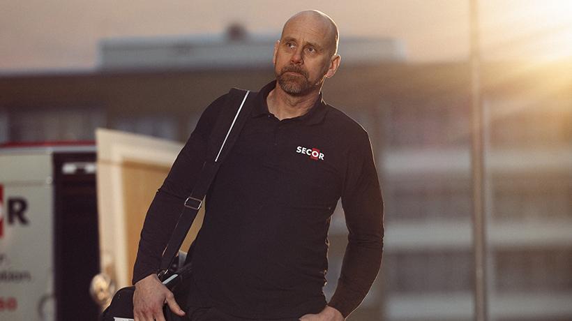 Mikael är certifierad installatör av säkerhetsdörrar från Secor
