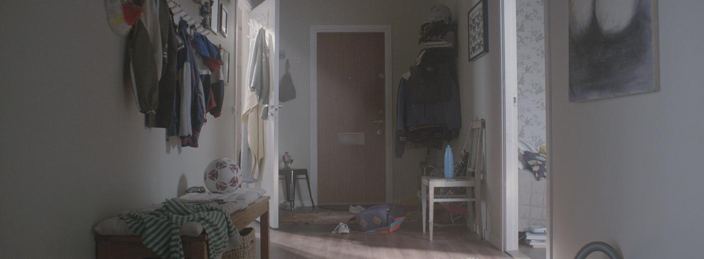 En vanlig svensk lägenhetsdörr